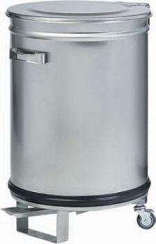 poubelle 100 litres electro broche av4668 av4668 achat. Black Bedroom Furniture Sets. Home Design Ideas