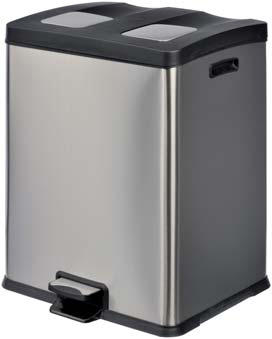 poubelles inox materiel chr achat poubelles inox. Black Bedroom Furniture Sets. Home Design Ideas