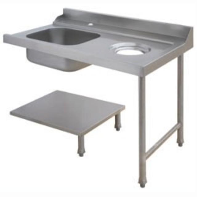 Lave vaisselle capot table entr e d26eks npc d for Plonge cuisine professionnelle