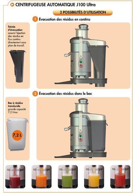 Centrifugeuse robot coupe j100ultra j100ultra achat centrifugeuse robot coupe - Robot coupe centrifugeuse ...