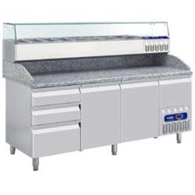 table frigo 2 portes 600x400 3 tiroirs tp261pm achat table frigo 2 portes. Black Bedroom Furniture Sets. Home Design Ideas