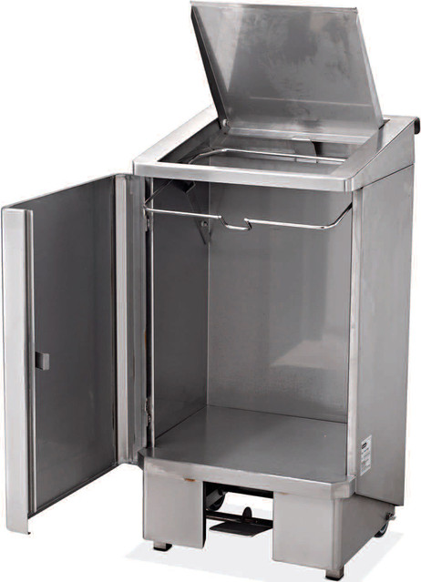 Poubelle 120 litres electro broche ggz0002 ggz0002 - Poubelle cuisine encastrable 30 litres ...