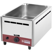 Bain-marie simple à gaz GN1/1