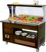Buffet salad bar mural mobile chaud et froid