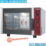 Four à convection électrique 4x 460x340 mm   humidificateur manuel