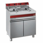 Friteuse professionnelle 2 x 14 litres 18kW TRIPHASEE