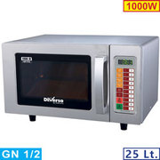 MICRO-ONDES INOX 1000W. 25 LITRES DIGITAL