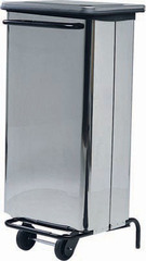 POUBELLE 100 LITRES ELECTRO BROCHE AV4652 - av4652 - achat poubelle 100 litres