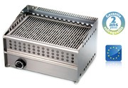 Wood steak grill gaz - l 550 mm