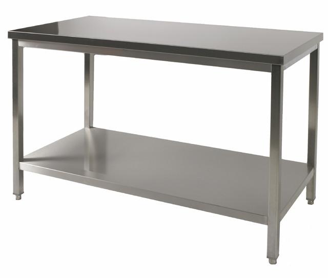 Table De Travail Centrale Profondeur 500 Tt0551 Achat Table De